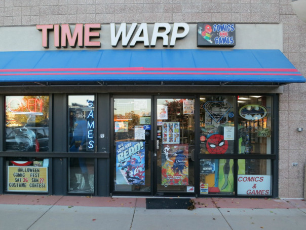 Time Warp Comics, 3105 28th Street, Boulder, CO 80301.