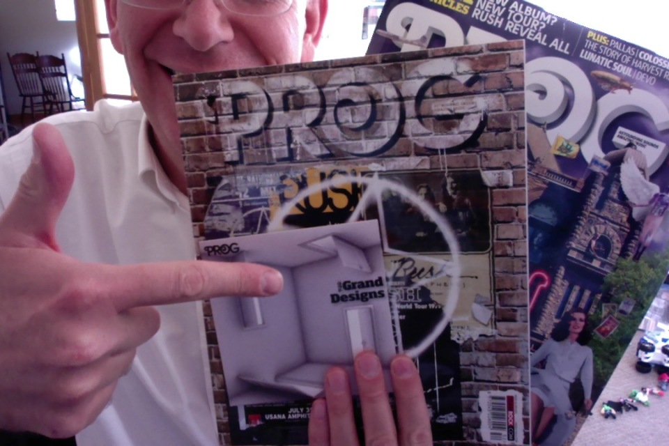 The gift of friendship. . . and PROG!