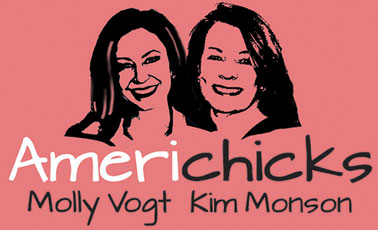 Molly and Kim, the Americhicks.  Two very, very cool women.