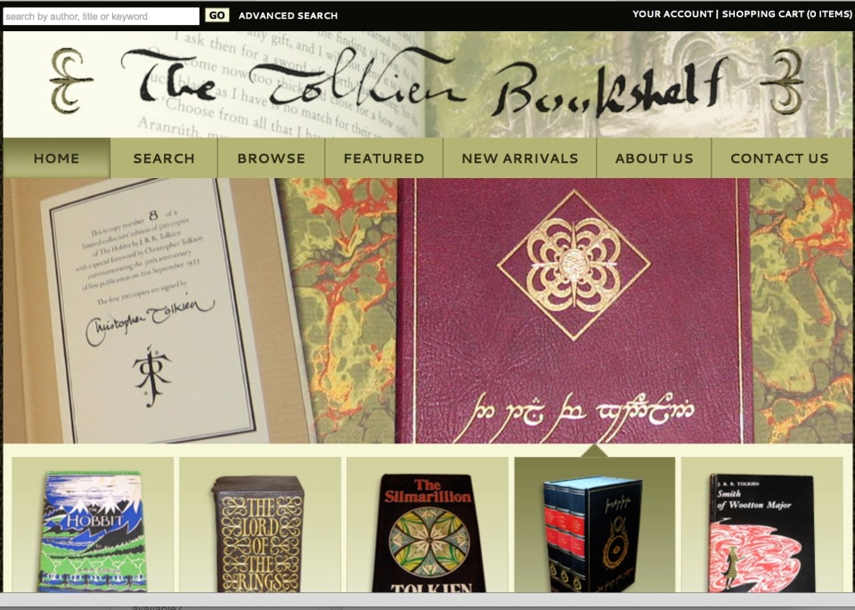 The Tolkien Bookshelf.