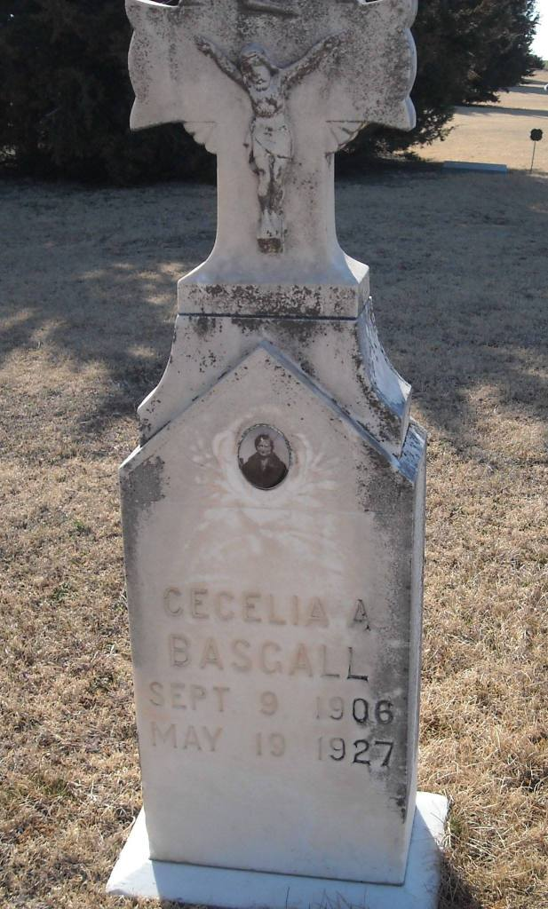 My great aunt, Cecelia, who also died too young.  Our Cecilia is named after her.