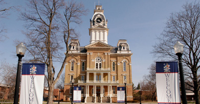 Hillsdale College, founded in 1844.  Still mighty!