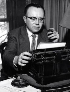 Russell-Kirk-at-typewriter-231x300