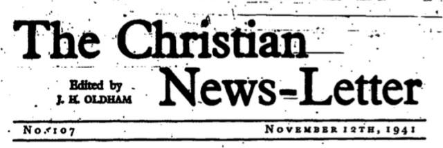 christian news-letter photo