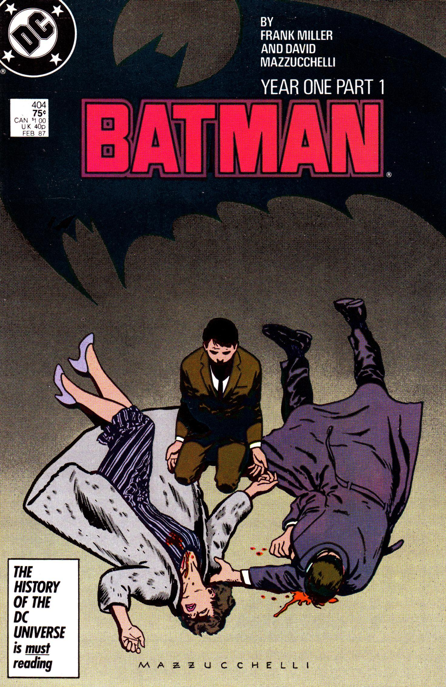 Frank Miller's First Encounter with Batman | Stormfields