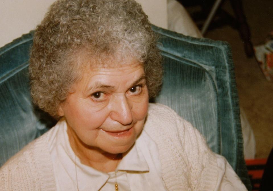 Grandma Basgall Dec 1990