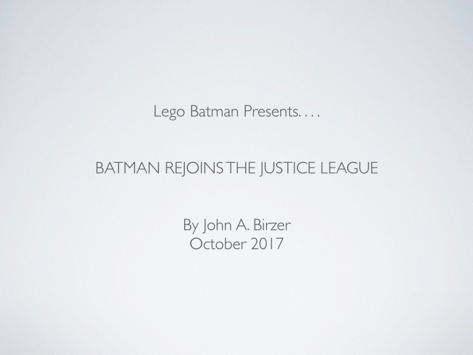 John Lego JUSTICE LEAGUE 2017.001